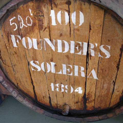 H&H Founder's Malvasia Solera 1894